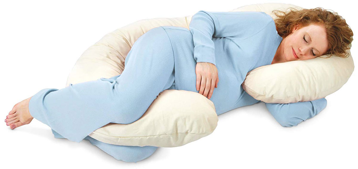 Deluxe-Snoogle-Organic-Pregnancy-Pillow